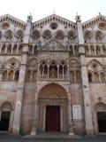 Den romanska domkyrkan Royaltyfria Bilder
