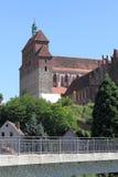 Den romanska domkyrkan i Havelberg Royaltyfri Fotografi