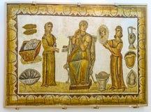Den romerska fångvaktaren royaltyfria bilder