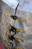 Den romerska soldaten specificerar armoren Arkivbild