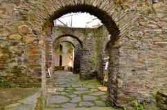Den romerska väggen Royaltyfria Bilder