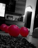 Den rosa Ballongroupen Royaltyfria Foton
