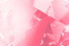 Den rosa diamanten valentien bakgrund stock illustrationer