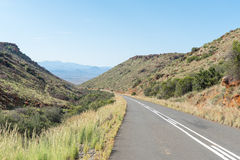 Den Rubidge kloofen passerar på den sceniska Owl Route Arkivbild