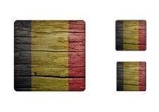 Den Rumänien flaggan knäppas 2 Arkivbilder