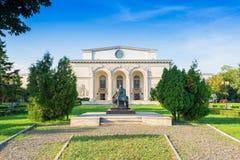 Den rumänska nationella operan, Bucharest Fotografering för Bildbyråer