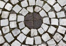 Den runda mosaiken Fotografering för Bildbyråer