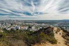 Den Runyon kanjonen parkerar, Los Angeles fotografering för bildbyråer