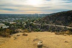 Den Runyon kanjonen parkerar, Los Angeles royaltyfri fotografi