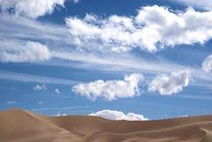 den russia för kurshskayaen för dynhorisontkosaen sanden går sträcka till Royaltyfria Foton