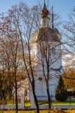 Den ryska ortodoxa kyrkan av Boris och Gleb av det 18th århundradet i byn av Belkino royaltyfria bilder
