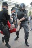 Den ryska polisen Royaltyfri Fotografi