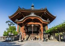 Den södra åttahörniga Hallen på den Kofuku-ji templet, Nara Arkivfoton