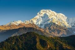 Den södra Annapurnaen arkivbilder