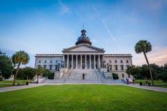 Den södra Carolina State House i Columbia, South Carolina Fotografering för Bildbyråer