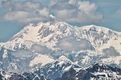 Den södra framsidan av Mount McKinley Royaltyfria Foton