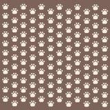 Den sömlösa djura modellen av tafsar fotspår Arkivbild