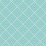 Den sömlösa mintkaramellen och vita art décofyrkantsparrar mönstrar vektorn Royaltyfria Foton