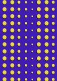 Den sömlösa modellen av körsbärsröda bär på blå bakgrund Arkivbilder