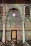 Den Saadian gravvalvmausoleet i Marrakech Marocko, Afrika royaltyfria bilder