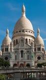 Den Sacre Coeur basilikan, Paris, Frankrike Royaltyfri Foto