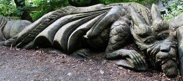Den SAD draken Royaltyfri Fotografi