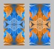 Den sagolika openwork modellen i form av snöflingor eller snör åt Fotografering för Bildbyråer