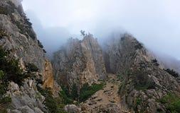 Den sagolika världen av de Crimean reserverna Arkivfoton