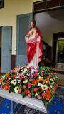 Den sakrala hjärtan av Jesus, gudomlig förskoning Arkivbild