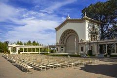Den San Diego balboaen parkerar Royaltyfri Fotografi