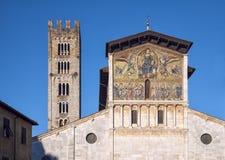 Den San Frediano'sen kyrkan Royaltyfri Bild