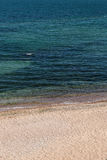 Den sandiga stranden Arkivbild