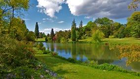 Den Sandringham trädgården kan in Arkivfoton