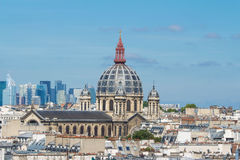 Den Sanka Augustin kyrkan, Paris, Frankrike Arkivbild