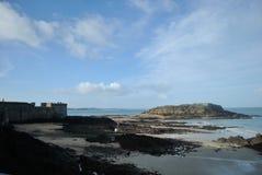 Den Sanka Malo Beach Arkivbild