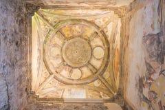 Den Santa Maria kyrkan fördärvar, Cazorla, Jaen, Spanien Arkivfoto