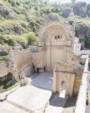 Den Santa Maria kyrkan fördärvar, Cazorla, Jaen, Spanien Royaltyfria Bilder