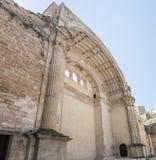 Den Santa Maria kyrkan fördärvar, Cazorla, Jaen, Spanien Royaltyfria Foton