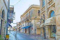 Den sceniska gatan Royaltyfri Bild