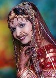 In den schönen Brautträumen Stockbild