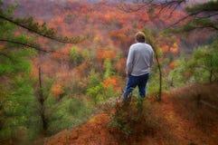 In den schönen Hügeln von West Virginia Stockfotografie