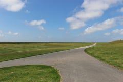 Den Schleswig-Holstein nationalparken, nordlig Tyskland Arkivbild