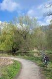 Den Schwalm-Nette naturen parkerar, Nettetal, Tyskland arkivbilder