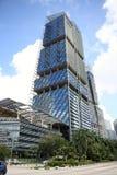 Den södra stranden står högt i Singapore Arkivfoto