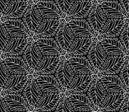 Den Seamless monokromen mönstrar 10 Royaltyfria Foton