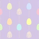 Den seamless påsken mönstrar. Arkivfoto