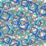 Den Seamless rektangeln mönstrar Arkivbilder