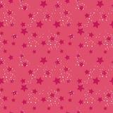 Den Seamless stjärnan mönstrar Royaltyfri Bild