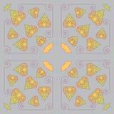 Den seamless vektorn mönstrar royaltyfri illustrationer