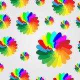 Den seamless vektorn mönstrar Royaltyfria Bilder